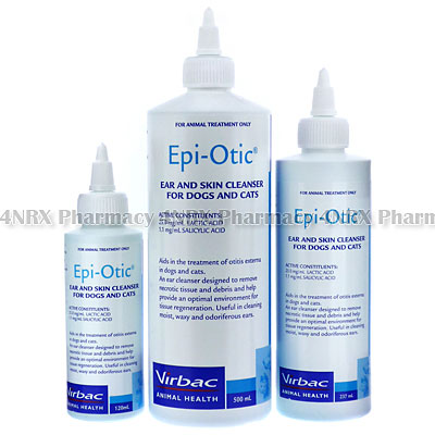 Epi-Otic Ear and Skin Cleanser (Lactic Acid/Salicylic Acid) - 4nrx
