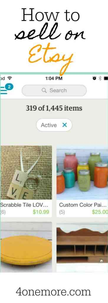 how to sell on etsy #etsyseller how to open an etsy shop @4onemore.com
