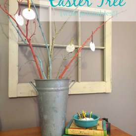 How to Make an Easter Tree (with printables)