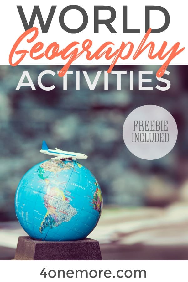 World Geography Activities - Making Room 4 One More