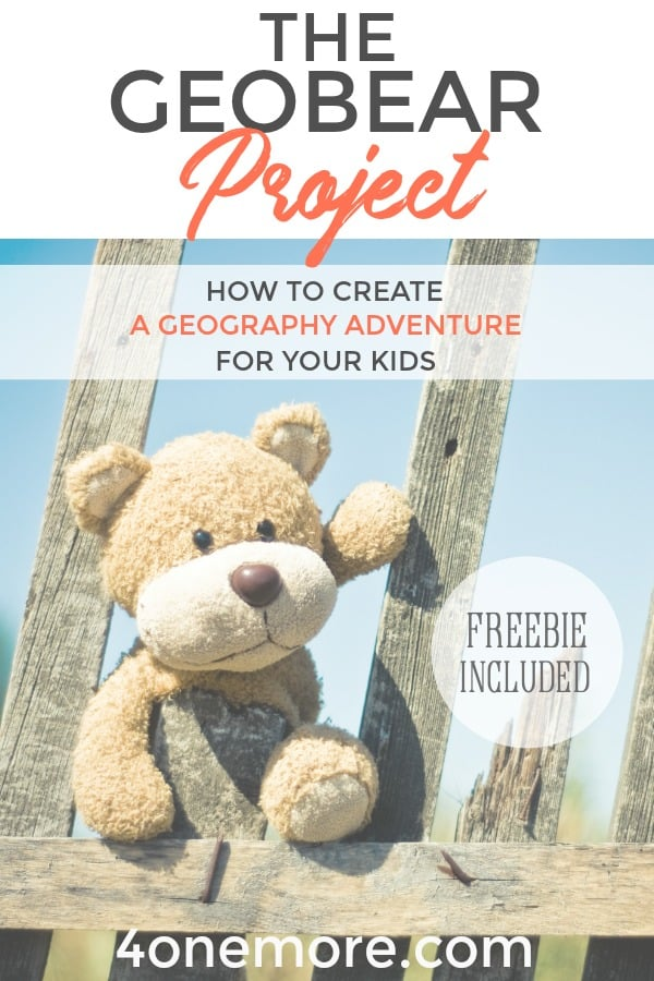 Awaken a world travel adventure for your kids with the GeoBear Project! Complete instructions included.