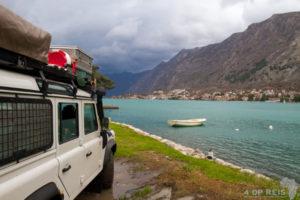Montenegro [Kotor] en Albanië met regen