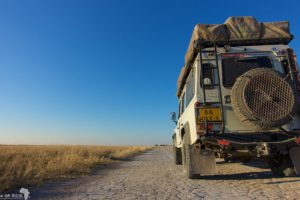 Central Kalahari Game Reserve - Our Landy