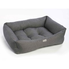 Square Sofa Beds Buchanan Top Grain Leather Chilli Dog Black And White Bed