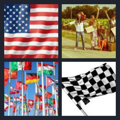 4 pics 1 word answers 6 letters chocolate flag invisite 4 pics 1 word cheats 6 letters flags crowd image collections expocarfo Choice Image