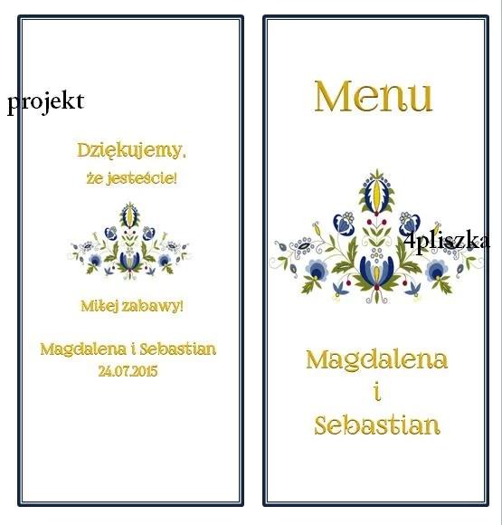 karty menu = kaszubskie 1