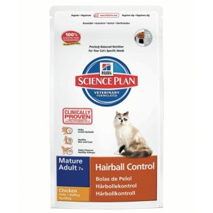 Hills science plan Mature Adult Hairball Control