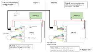Double Heading Wiring Diagram [DNO]  4QD  Electric Motor