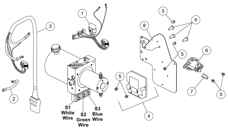 Tailgate Salt Spreader Wiring Diagram Snow Plow Wiring