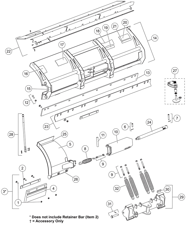 western snow plow parts diagram 3 speed ceiling fan pull chain switch wiring qte and spreader