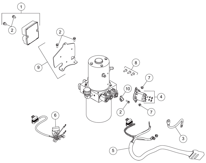 western plow hand controller wiring diagram