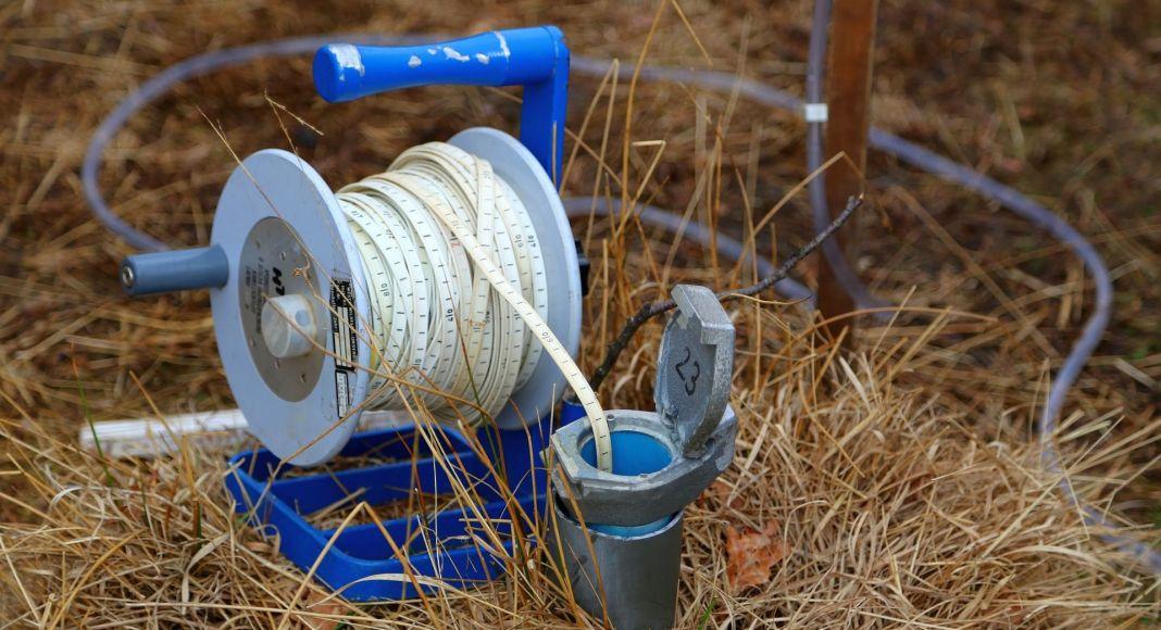 Messung nach Wasser