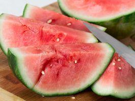 Melonen mit Wasser