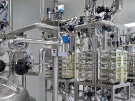 Industrieller Wasserfilter