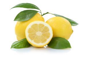 Einige Zitronen
