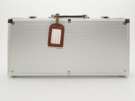 Reisekoffer aus Aluminium