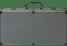 Koffer aus Aluminium