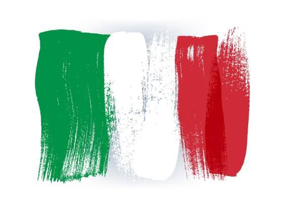 Flagge von Italien
