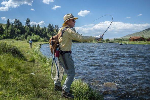 Begabter Angler