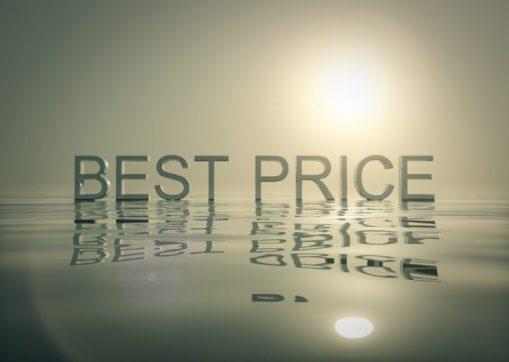 """Schriftzug """"Best Price"""""""