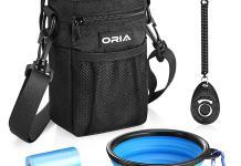 Tasche, Napf, Clicker und Kotbeutel