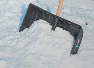 Schneeschieber Test