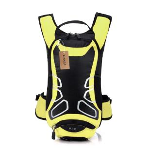 Gelber Fahrradrucksack