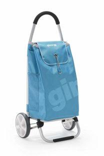 Blauer Einkaufstrolley der Marke Gimi