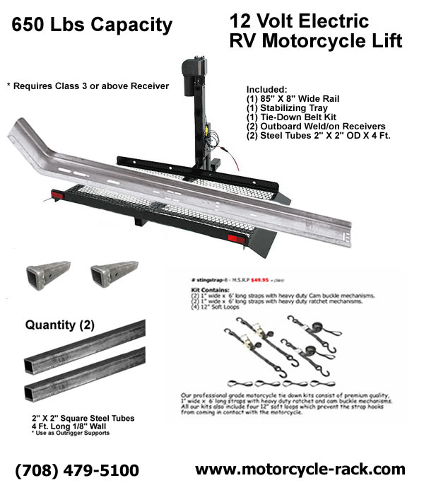 Motorcycle Carriers, to Lift, Carry & Tow Foreign