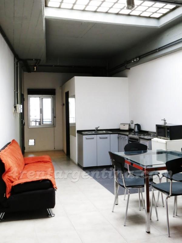 Departamentos San Telmo Peru y Chile I  Apartamento Buenos Aires en alquiler temporario