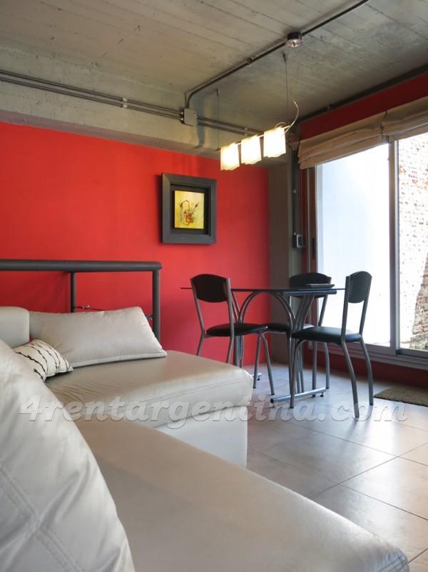 Departamentos San Telmo Peru y Chile III  Apartamento Buenos Aires en alquiler temporario