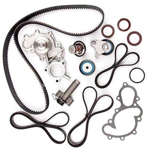 ECCPP New Timing Belt Water Pump Kit Fits 1995-2004 Toyota