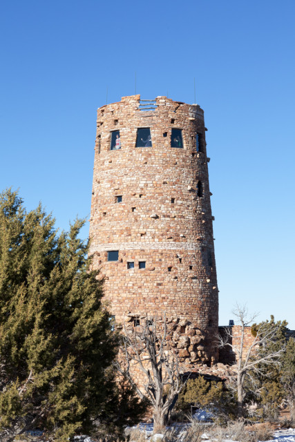 Grand Canyon, Desert view watchtower