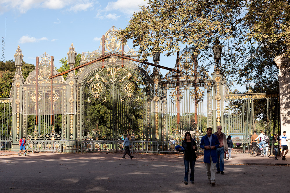 Parc de la Tête d'Or – en guldpark