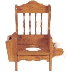 Wooden Potty Chair Love Bag Amish Chairs