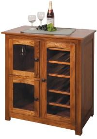 Amish made Shaker Wine Cabinet. Four Seasons Furnishings ...