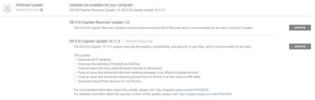 update 10.11.2