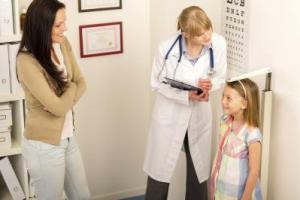 dr measuring child