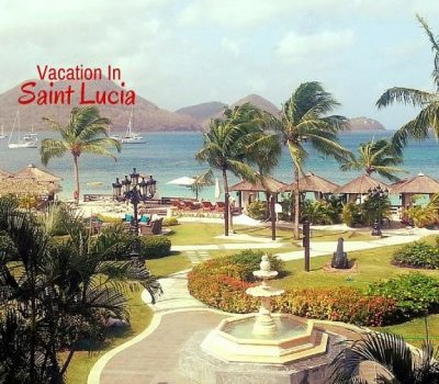 vacation in st. lucia