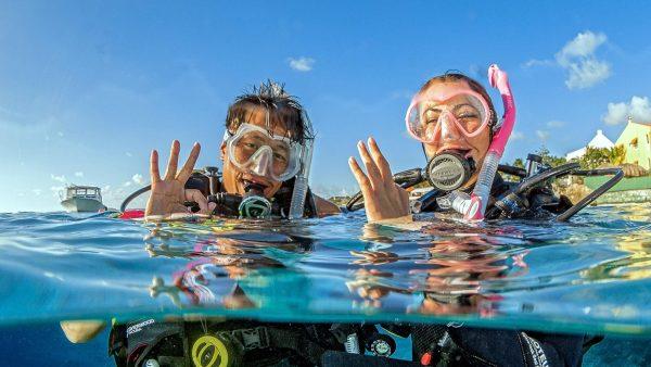 Open water diver PADI