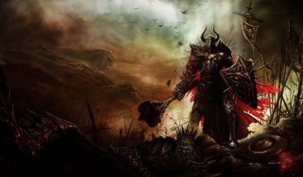 Echoing Fury Mace from Diablo 3