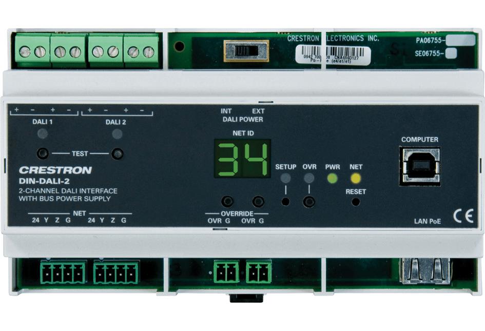 Cables Remote Wiring Diagram Crestron Din Dali 2