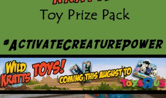 WILD KRATTS Toys Are At Toys R Us! Review & Giveaway #ActivateCreaturePower