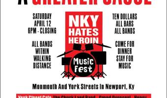 Great Music For A Greater Cause: NKY Hates Heroin