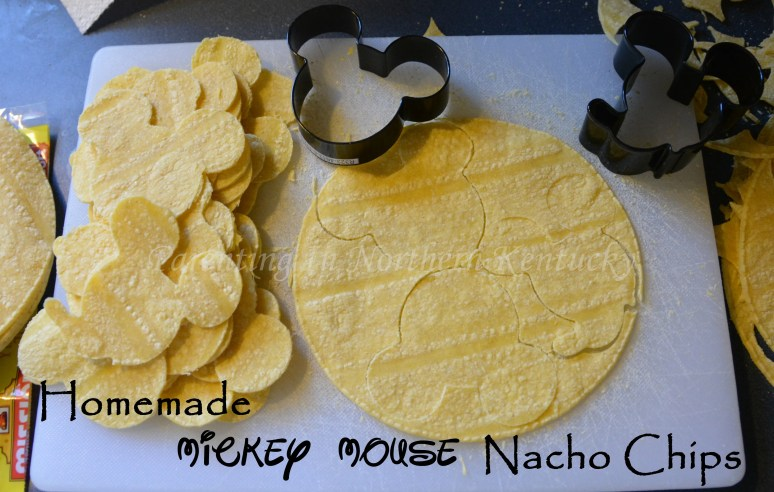 Homemade Mickey Mouse (or any shape/ character) Nacho Chips