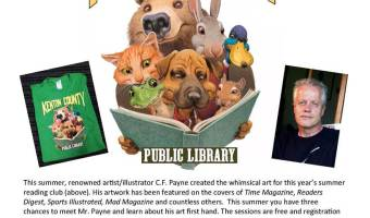 Meet Illustrator/Artist C.F. Payne TODAY At All KCPL Branches
