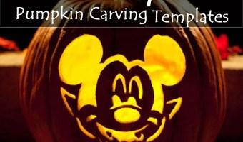 100+ FREE Disney Halloween Pumpkin Carving Stencil Templates w/ Images!