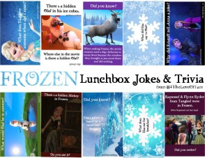 FROZEN Lunchbox Jokes & Trivia -FREE Printable