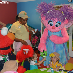 We hung out with Sesame Street on the Caribbean Beach at Beaches Resorts Turks and Caicos!!  4 The Love Of Family!