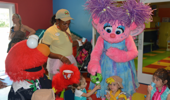Caribbean Adventures With Sesame Street At Beaches Resorts